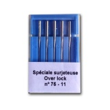 Aiguille machine - spéciale surjeteuse - n°75 - 70