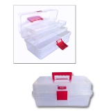 Boîte de rangement XL transparente - 70