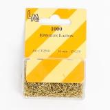 Épingle laiton dorée 10mm -1000- - 70