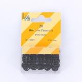 Bouton pression plastique 10mm -20 /carte- - 70