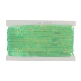 Galon paillette 6mm (23m) pastel vert - 70