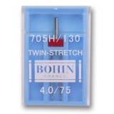 Aiguille machine twin-stretch -étui de 1- - 70