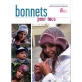 """Publication buch tricothon """"bonnets pour tous"""" - 72"""
