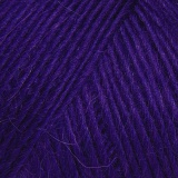 Laine rowan cf worsted 10/100g true purple - 72