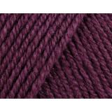 Laine rowan wool cotton 4ply 10/50g prune - 72