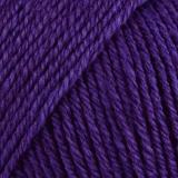 Laine rowan wool cotton 4ply 10/50g aubergine - 72