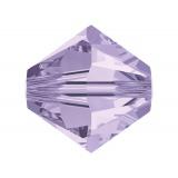 Perle Swarovski x5 4mm violet - 100 - 72