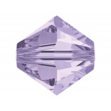 Perle Swarovski x5 8mm violet - 25 - 72