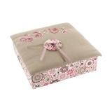 """Kit cartonnage """"boîte à bijoux"""" - 77"""