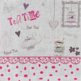 "Coupon ""teatime"" rose métis blanc - 77"