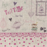 "Coupon ""teatime"" rose métis naturel - 77"