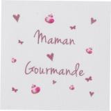 """6 coupons """"maman gourmande"""" rose sur métis nat. - 77"""