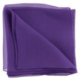 Écharpe 100 % soie 30/140 violet - 80
