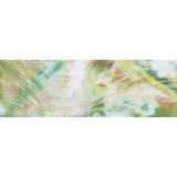 Echarpe mousse polyester 35x160 vert - 80