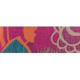 Echarpe poly confort 45x180 fushia - 80