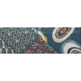 Echarpe poly lurex 45x180 vert - 80