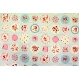 Tissu Yuwa 100% coton-110/112cm oxford - 82