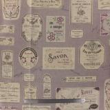 Tissu 80%coton 20%lin laize de 110cm - 82