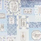 Tissu 100% coton motif couture Yuwa - 82