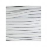Cordon rond élastique 3mm blanc