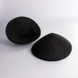 Bonnet novampli recouvert noir 2 paires