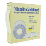 Gros grain pour sangle collant 4cm blanc - 96