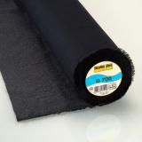 Entoilage tissé coton thermo 90cm noir - 96