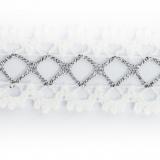 Dentelle 100% coton - 2,5 cm