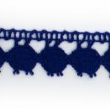 Dentelle 100 % coton roy - 2,2 cm