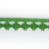 Dentelle 100 % coton - 1,4 cm prairie