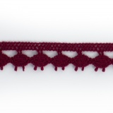 Dentelle 100 % coton - 1,4 cm bordx