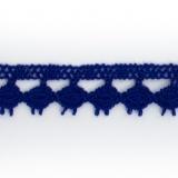 Dentelle 100 % coton - 1,4 cm roy