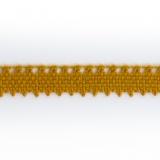 Dentelle 100%coton roux - 0,9 cm