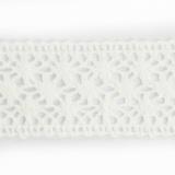Dentelle 100 % coton blanc - 2 cm