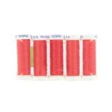 Fil perles polyamide 25m rouge - 99