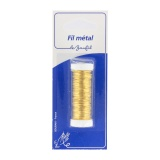 Fil métal gros 20m marron(cuivre émaillé) blister - 99