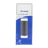Fil métal gros 20m noir(cuivre émaillé) blister - 99