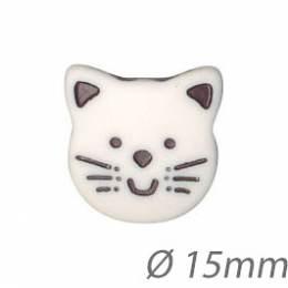 Boutons enfant chat - 1000