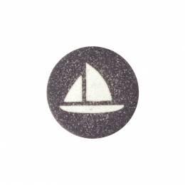 Boutons enfant bateau - 1000