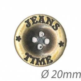 Bouton jeans 4 trous - 1000