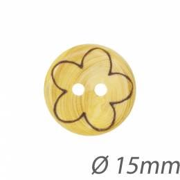 Boutons en buis fleur - 1000