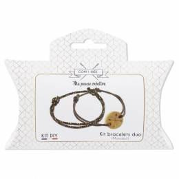 Kit bracelets duo homme Com'1 Idée - 1000
