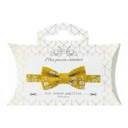 Kit noeud papillon en tissu Liberty Com'1 Idée - 1000