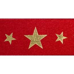 Ruban starlight red/or 25mm - 101