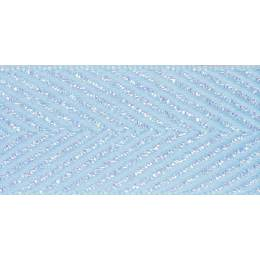 Ruban zigzag baby blue 15mm 15mm - 101
