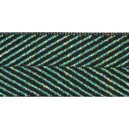 Ruban zigzag black - 101