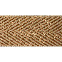Ruban zigzag copper 15mm - 101