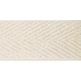 Ruban zigzag ivory 15mm - 101