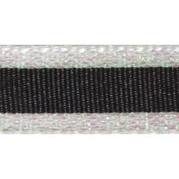 Ruban winter stripe pearl 10mm - 101