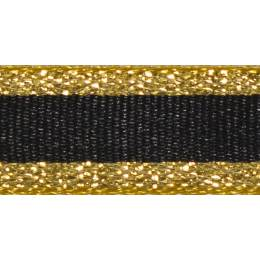 Ruban winter stripe dark or 10mm - 101